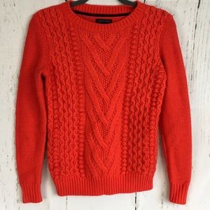 Tommy Hilfiger Cable Knit Pullover Sweater